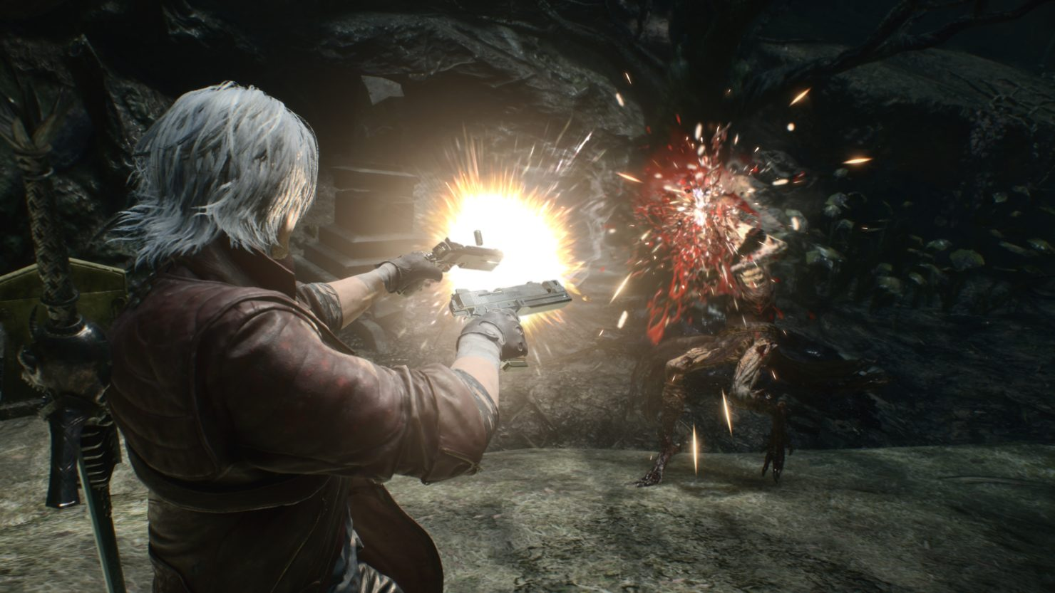 Devil May Cry 5 TGS 2018 Dante gameplay