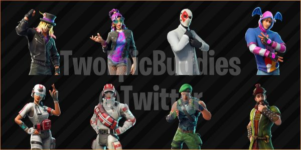 Fortnite Leaks Reveal Last New Skins Backbling And Emotes Before