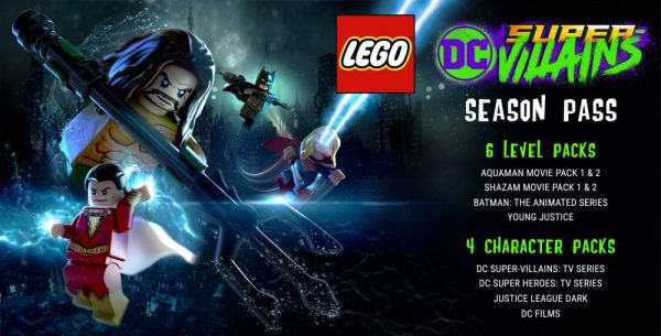 LEGO DC Super-Villains Season Pass contains six Level Packs