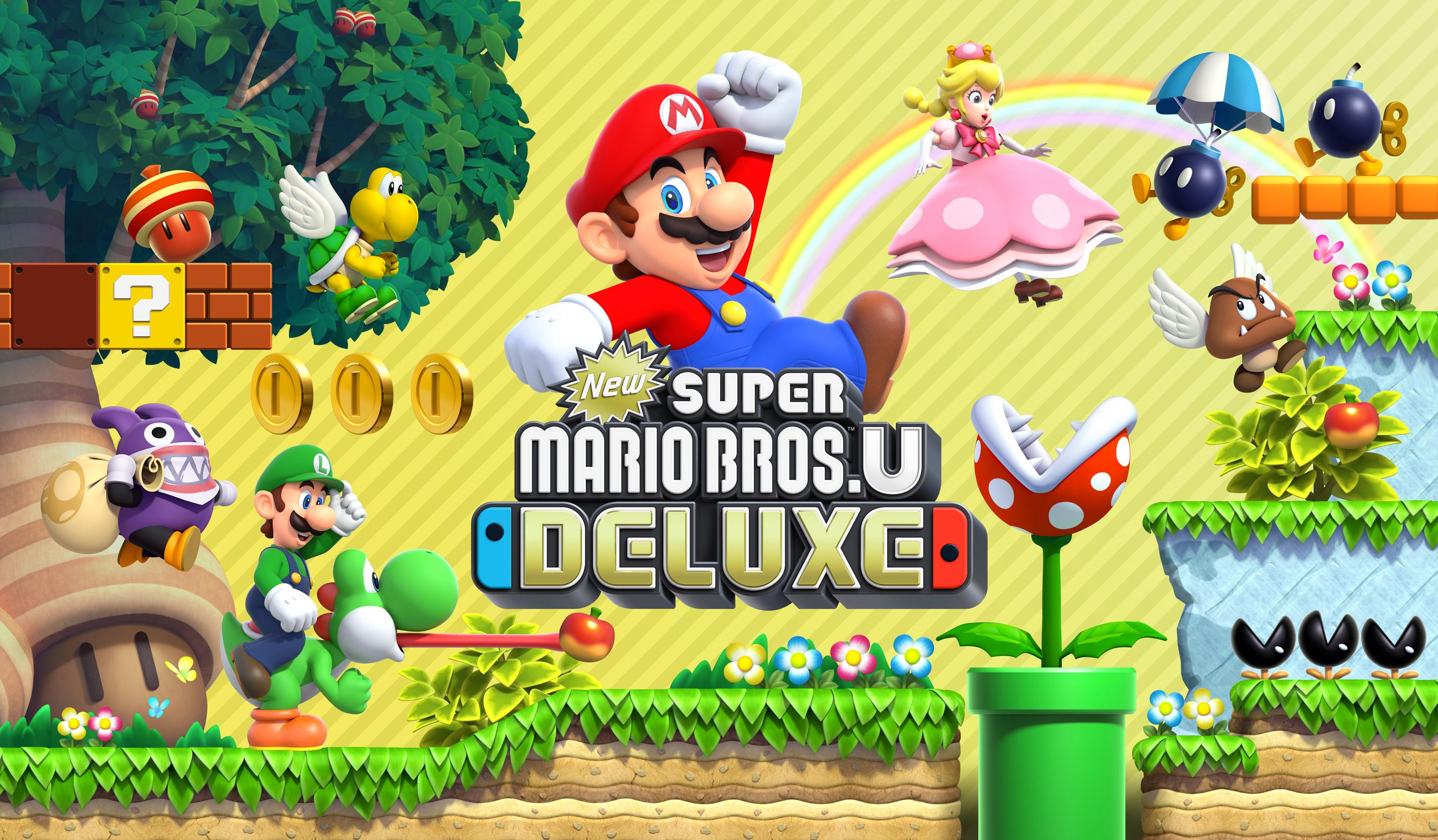 New Super Mario Bros U Deluxe Out Today Adds Playable Toadette