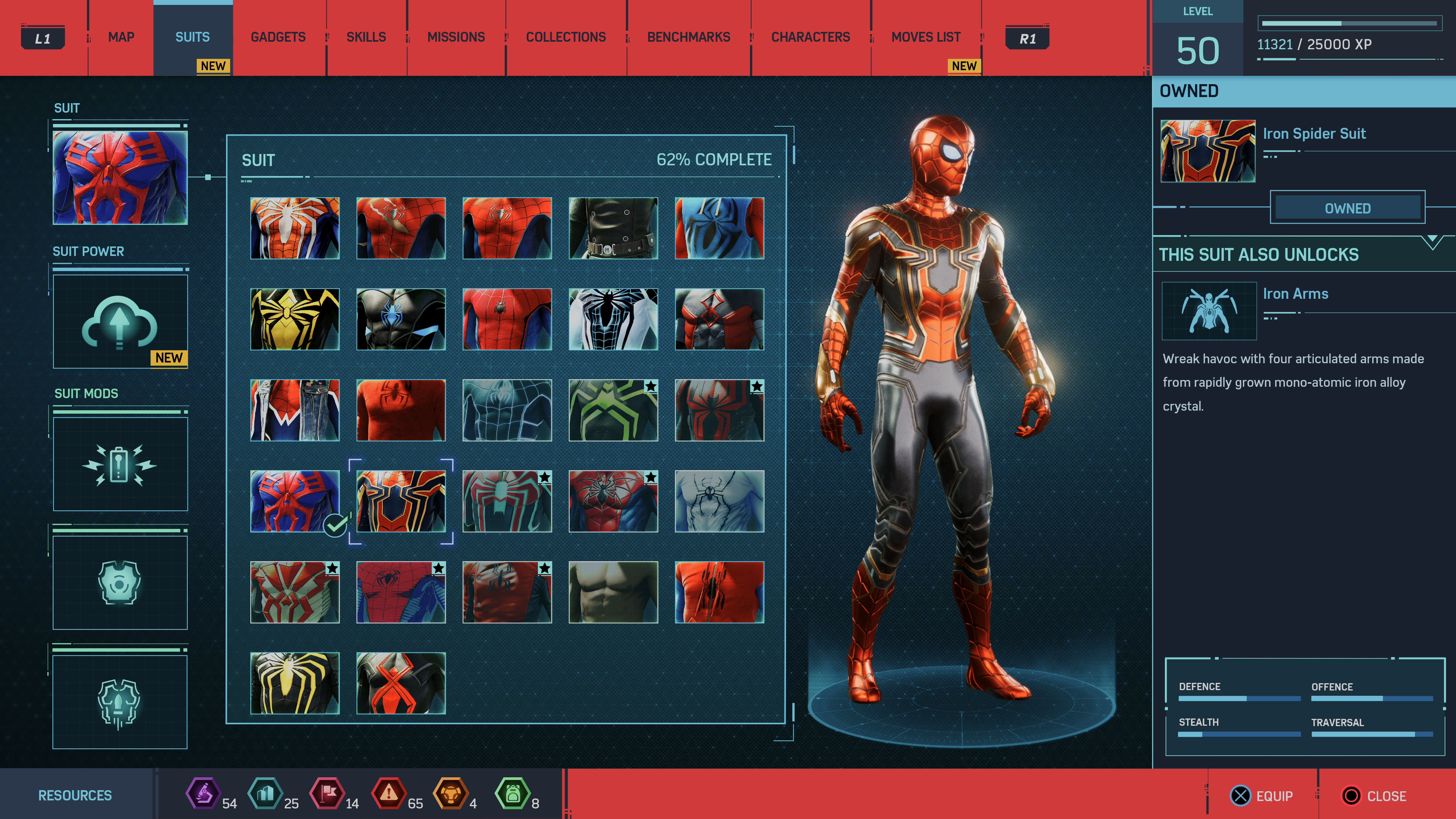 Spider-Man Suits: how to unlock every outfit and costume in