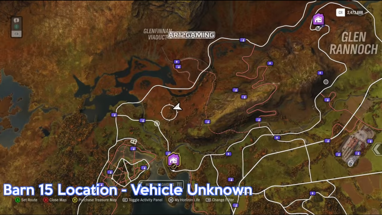 Forza Horizon 4: all Barn Finds including seasonal barns - VG247