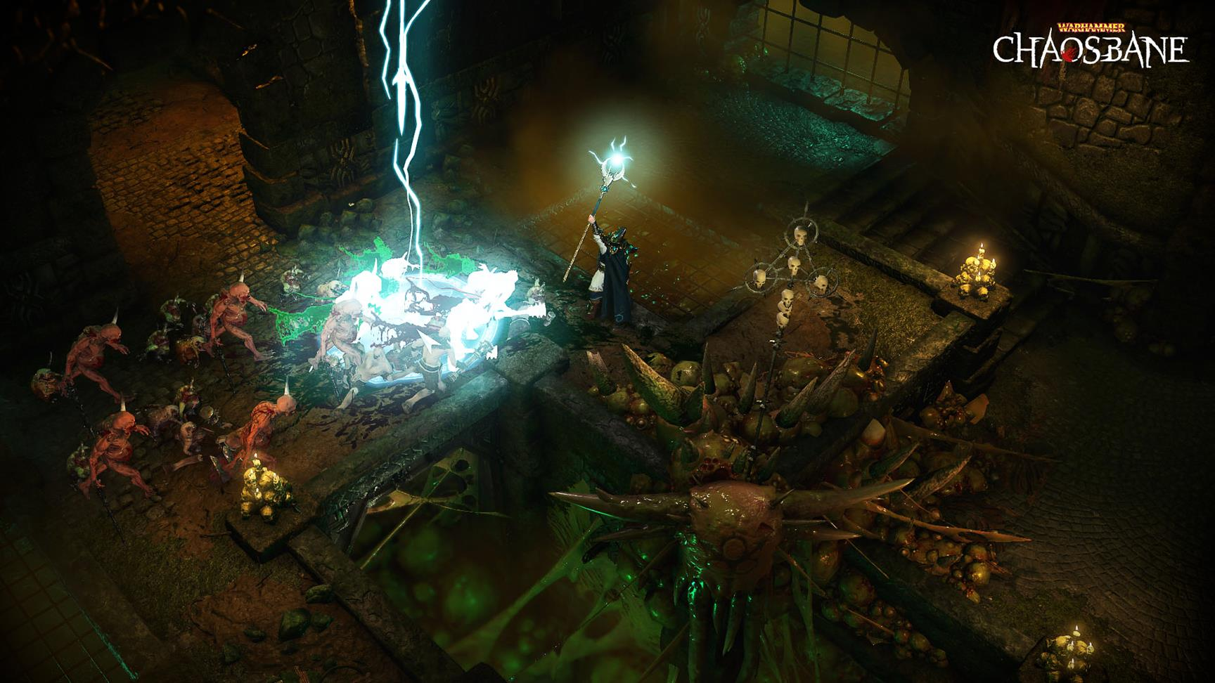 Watch the first gameplay for Diablo-like Warhammer: Chaosbane - VG247