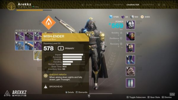 Destiny 2: Forsaken - How to get the Wish-Ender Exotic Bow - VG247