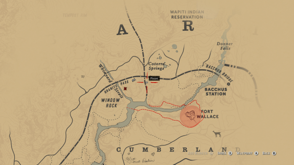 Red Dead Redemption 2: where to find the derailed train and
