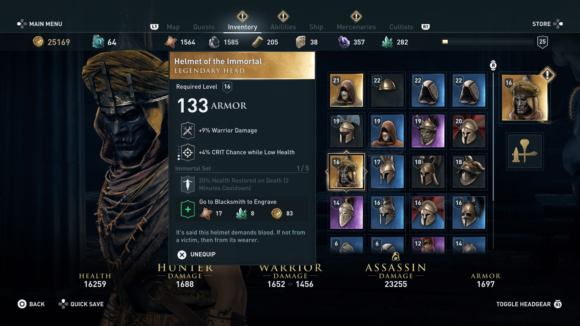 Assassin S Creed Odyssey Best Armor For The Early Mid And Late