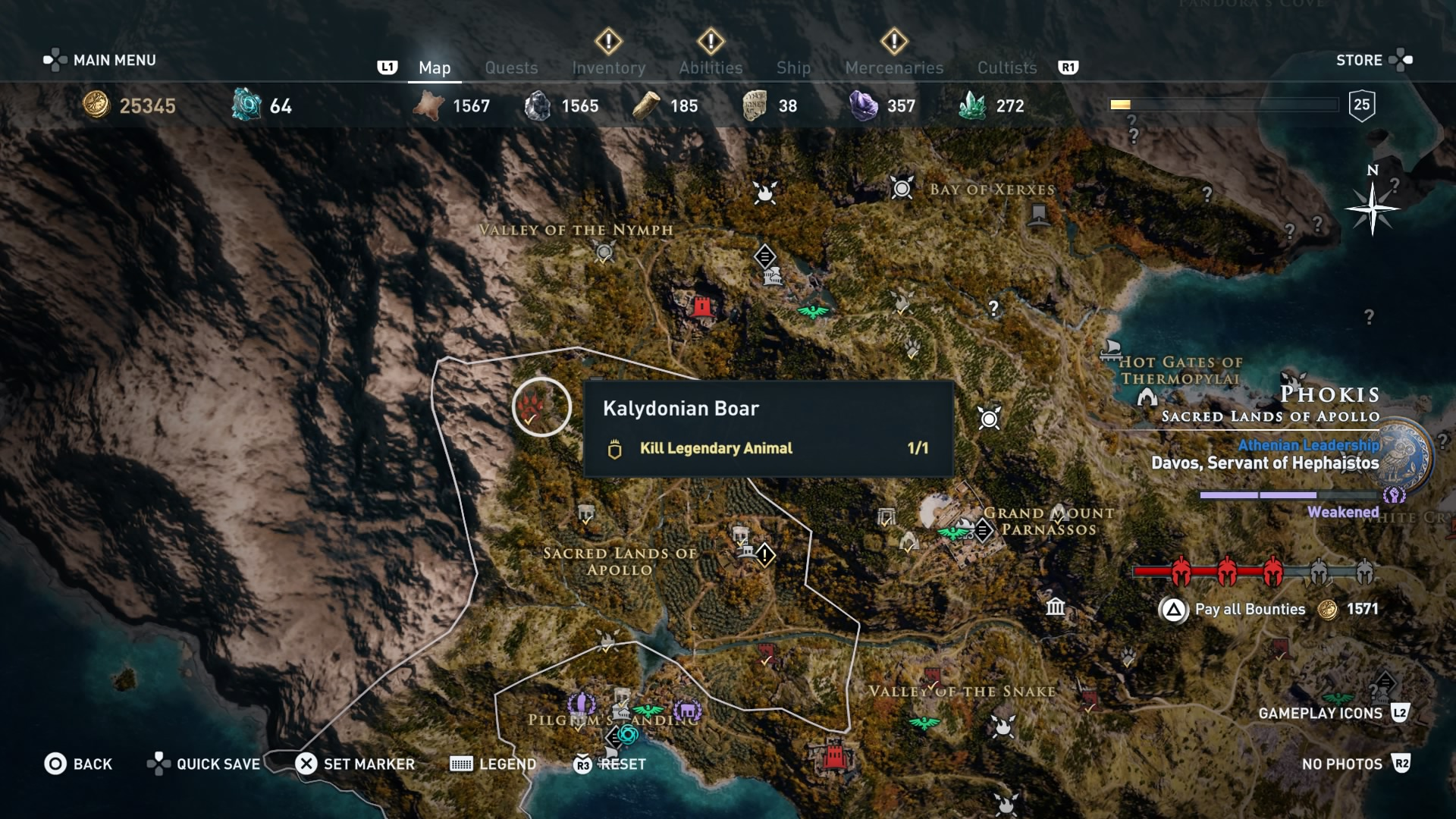 Assassin's Creed Odyssey: How to kill Kalydonian Boar, Hind