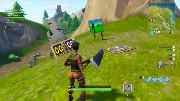Fortnite Shooting Gallery Locations Vg247