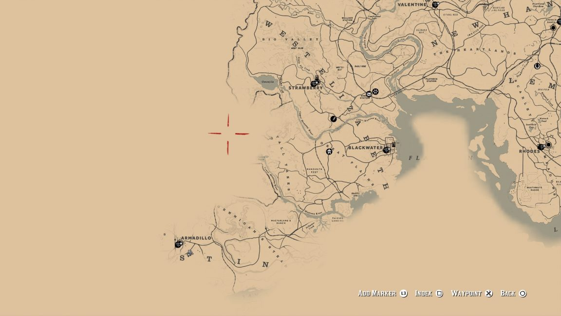 Rdr2 Karte Pdf.Red Dead Redemption 2 Map Let S Take A Look In Detail Vg247