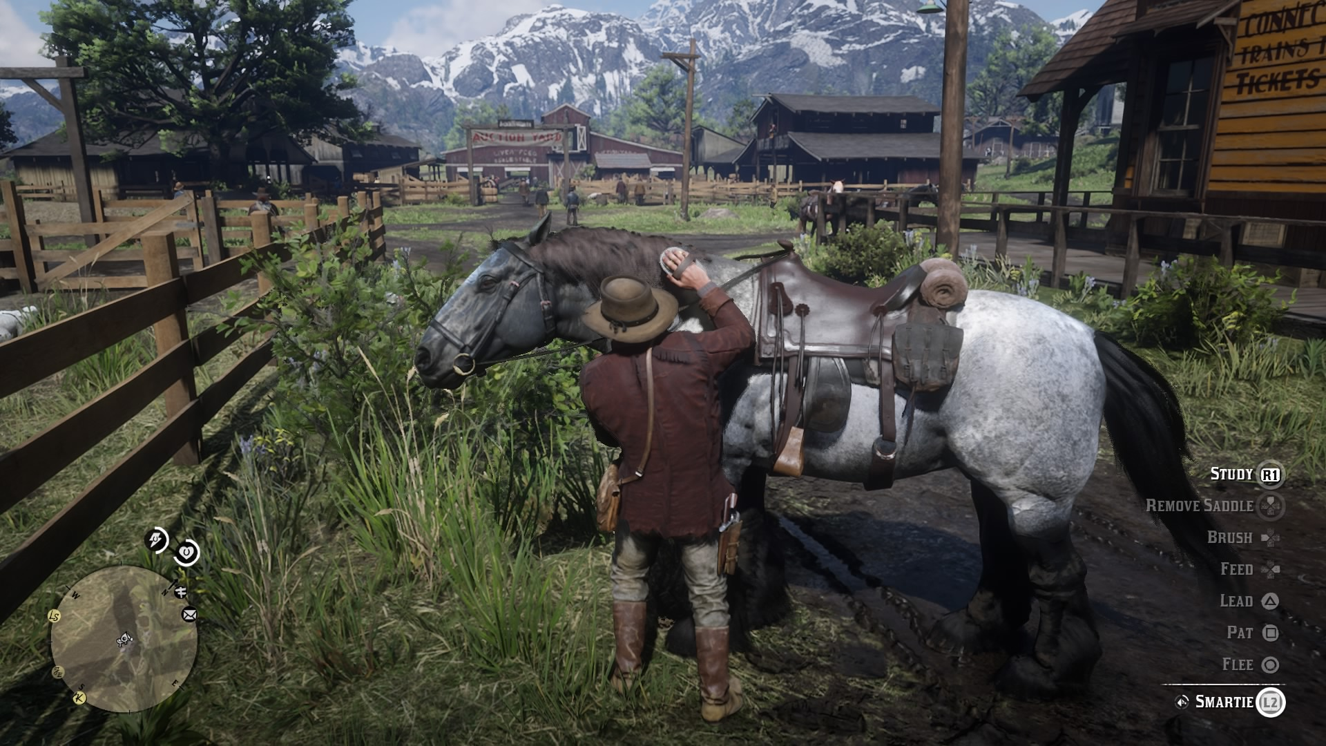 Red Dead Redemption 2 How To Brush Your Horse Vg247