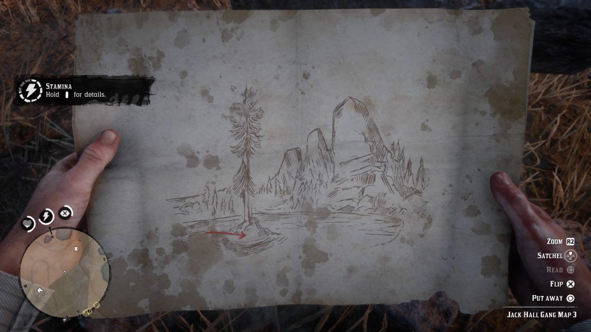 rdr2 collectors edition treasure map