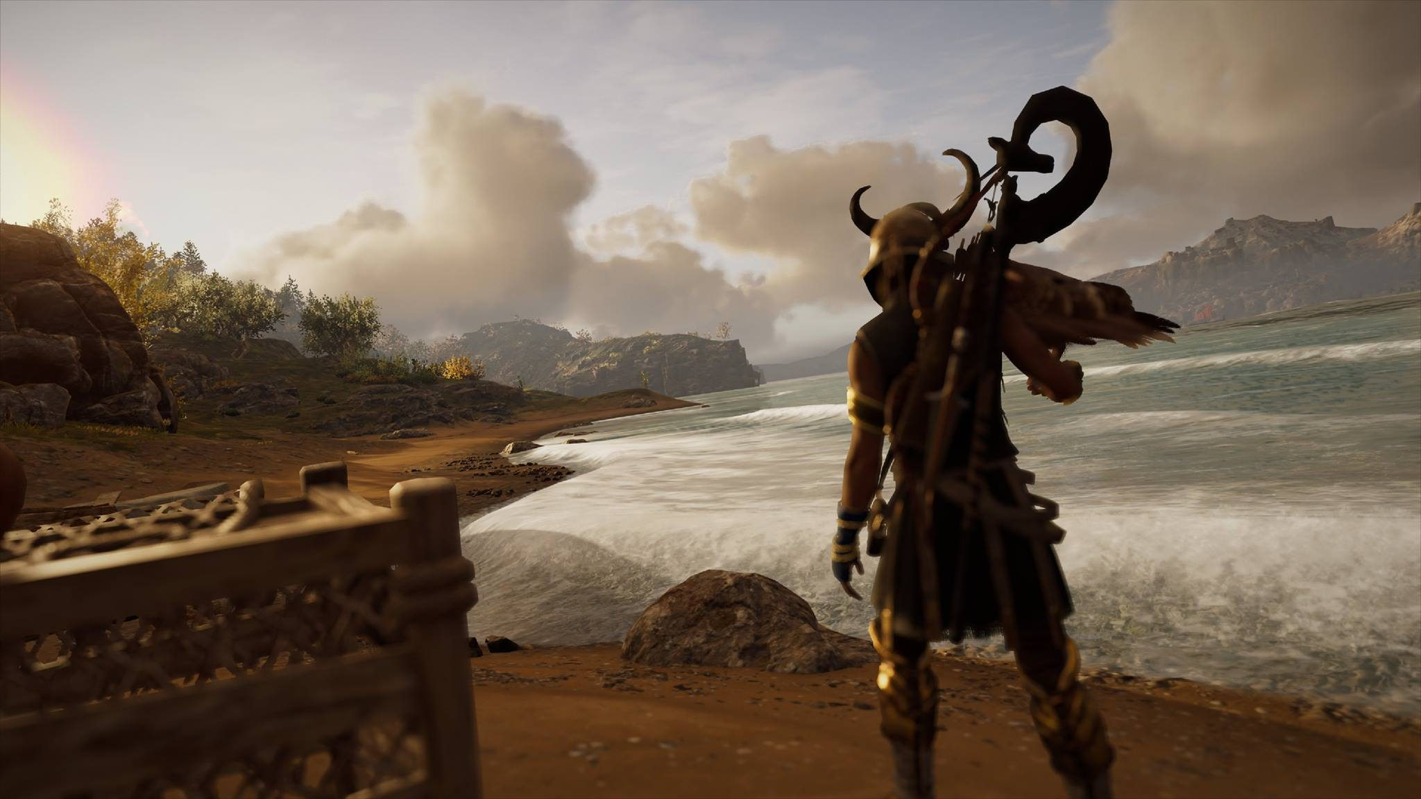 Where did the missing features of Assassin's Creed go?