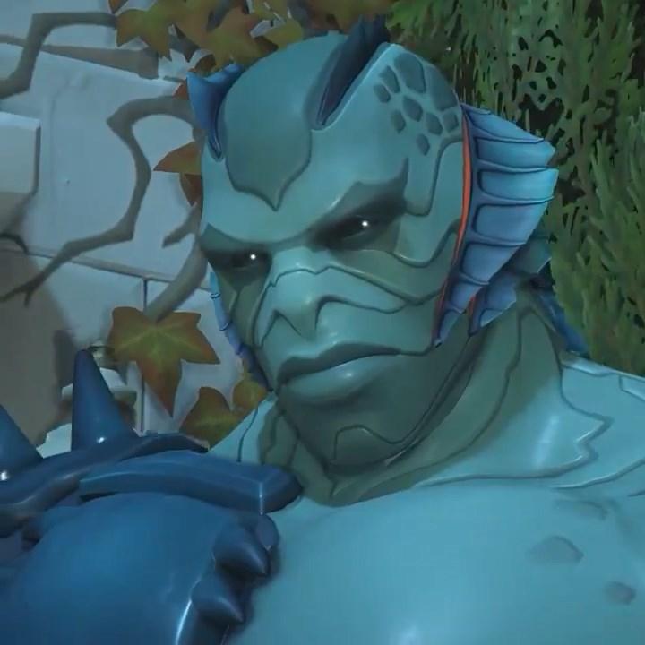 Doomfist Halloween Skin 2020 First Overwatch Halloween Terror skins turn Doomfist into a fish
