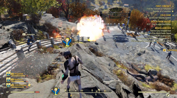 Fallout 76 features 'Atom' cosmetic microtransactions