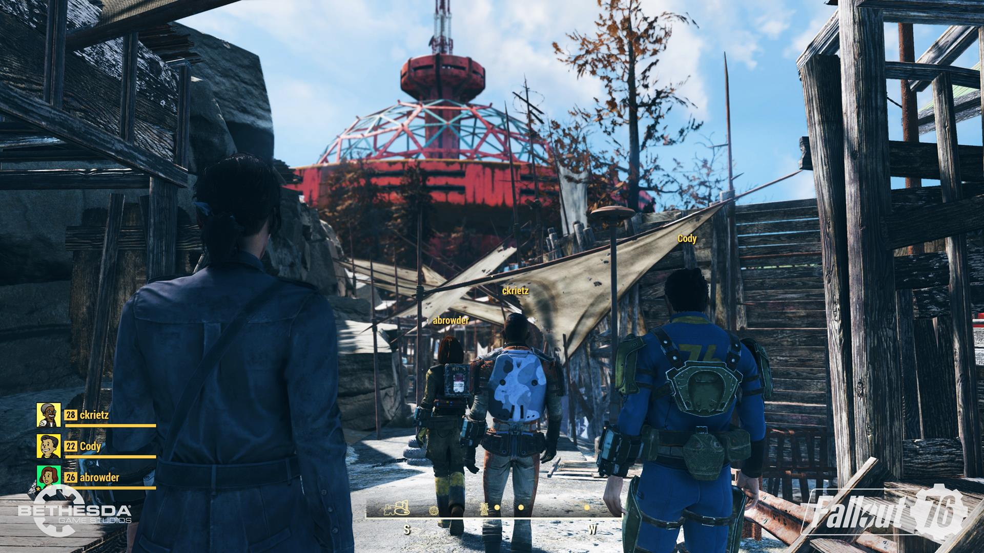 Fallout 76 players discover invisibility bug - VG247