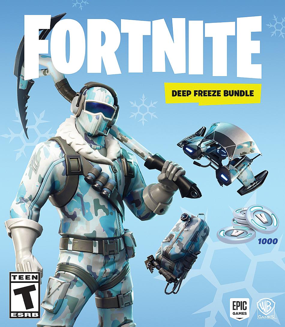 Fortnite Deep Freeze Bundle Is A Retail Version Of Fortnite Battle