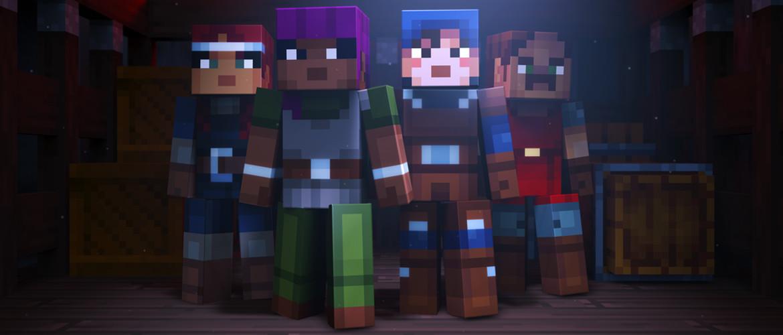 Minecraft Dungeons llegará a consolas y PC el 26 de mayo 18
