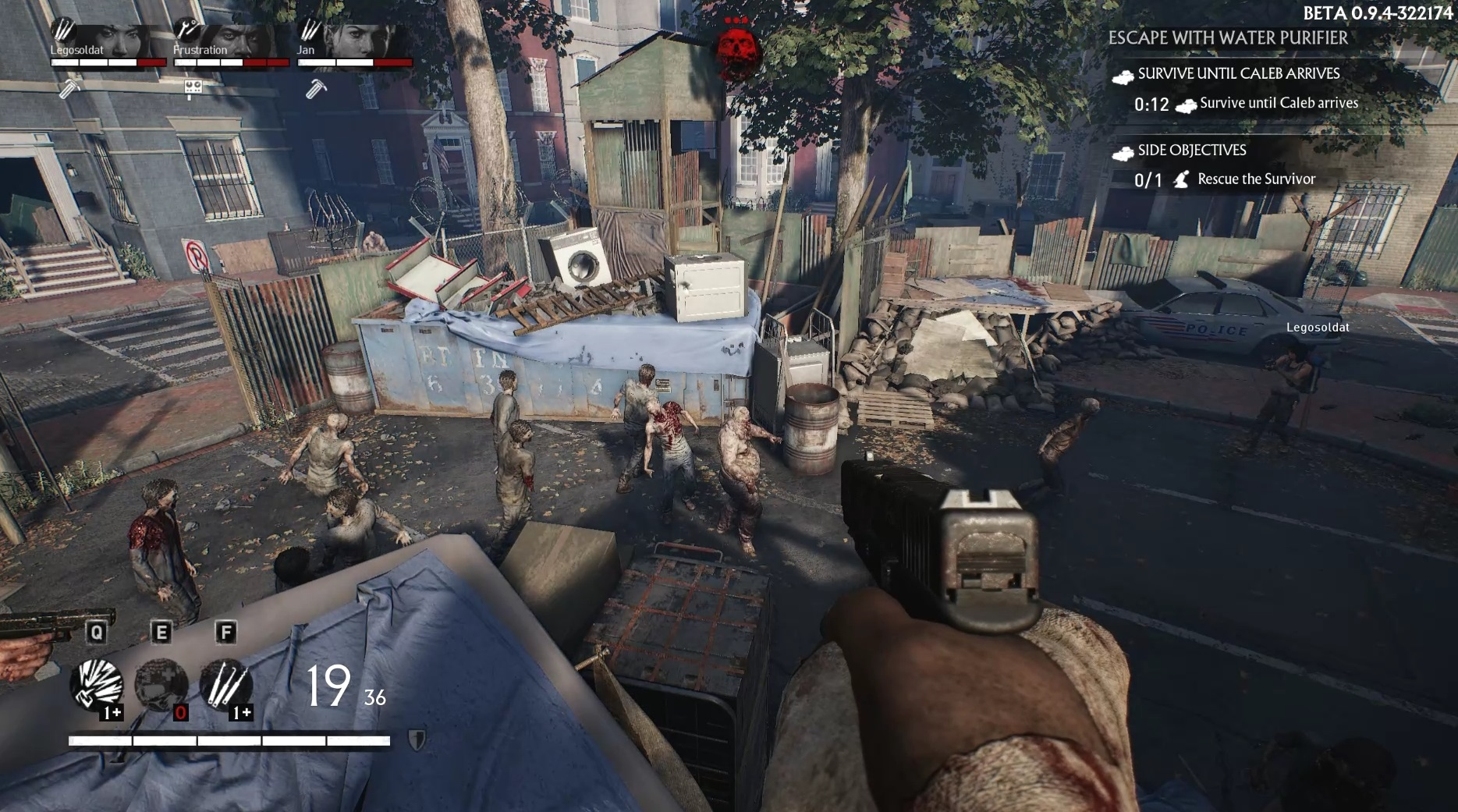 Overkill's The Walking Dead makes slow, lumbering zombies