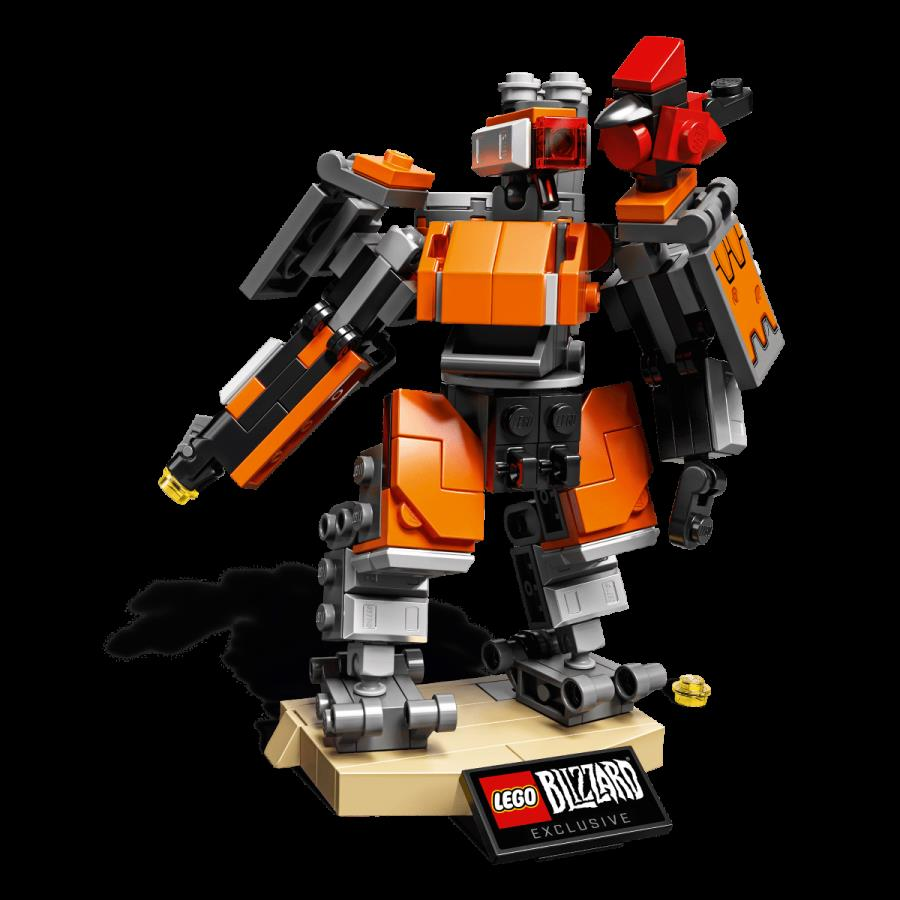 This new Overwatch LEGO Bastion is great for Omnic fans