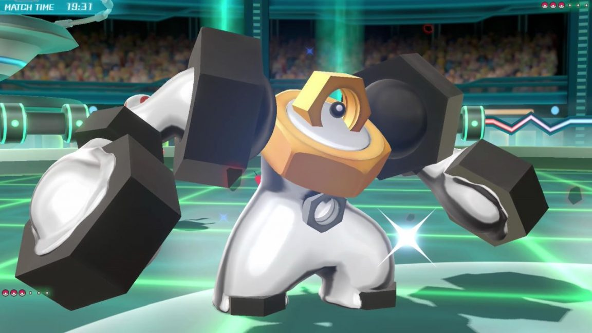 Pokemon Go Meltan evolution to Melmetal