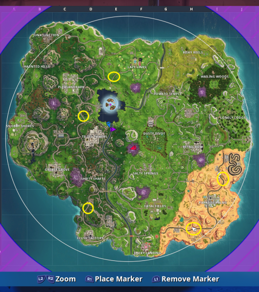 Fortnite Where To Find The Radar Signs All Radar Locations Vg247