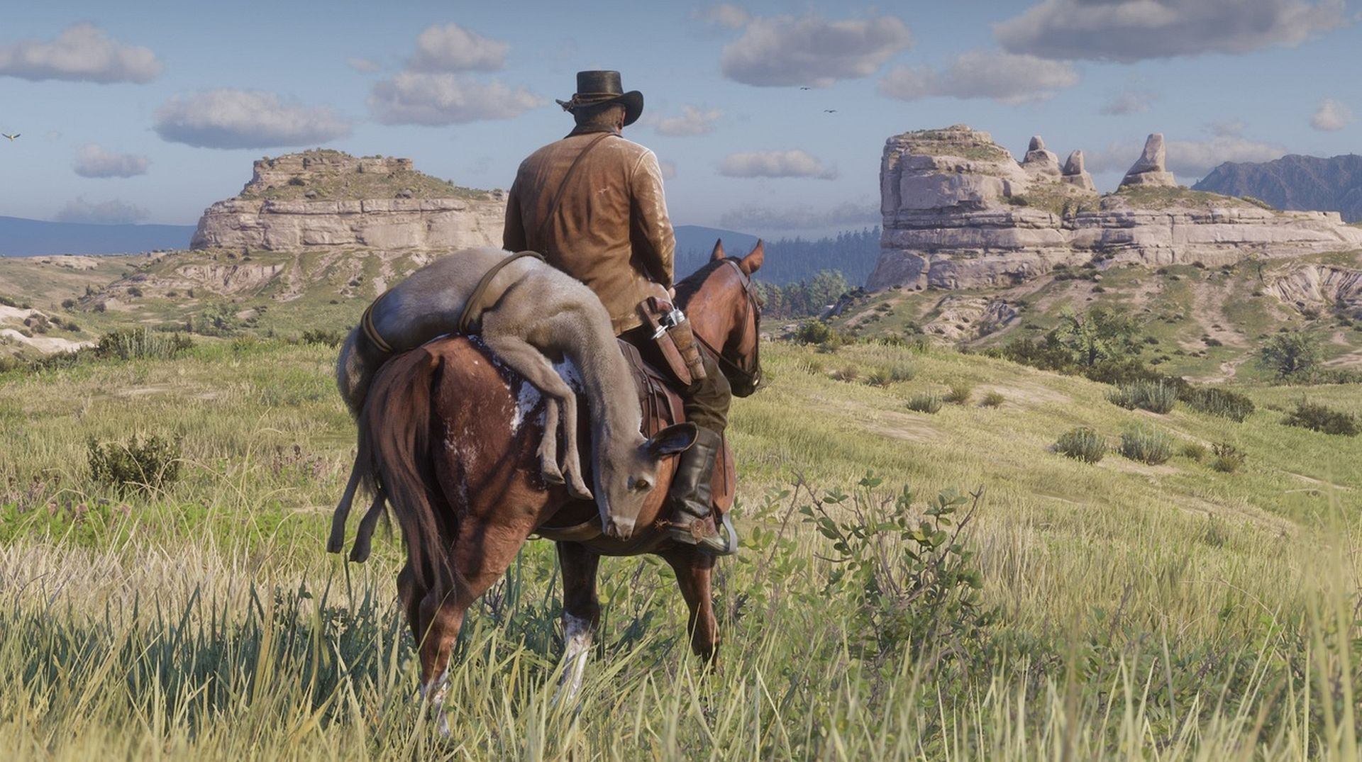 Red Dead Redemption 2 How To Get The Best Wild Horse Vg247