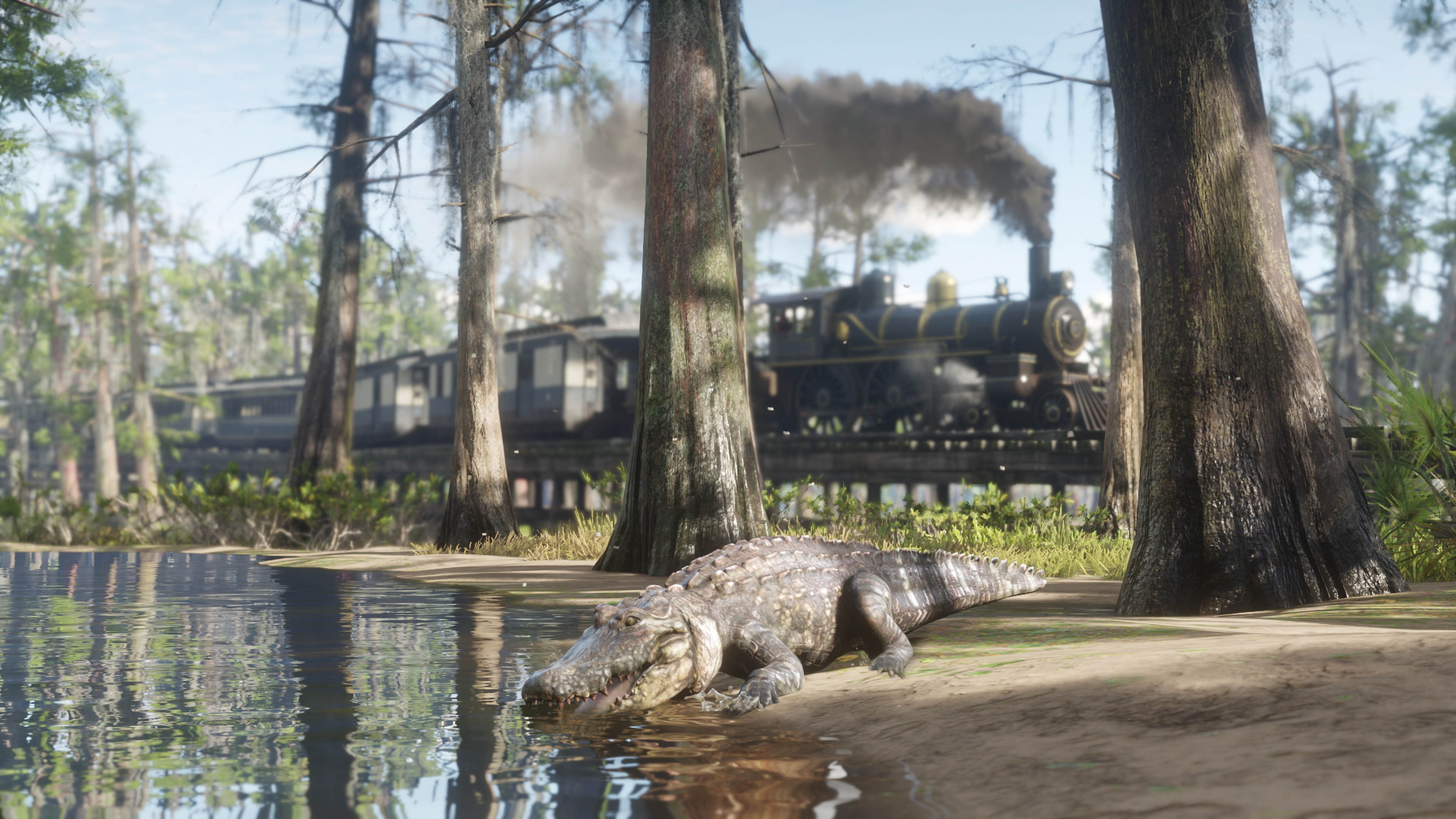 Red Dead Redemption 2: where to find the derailed train and hidden treasure
