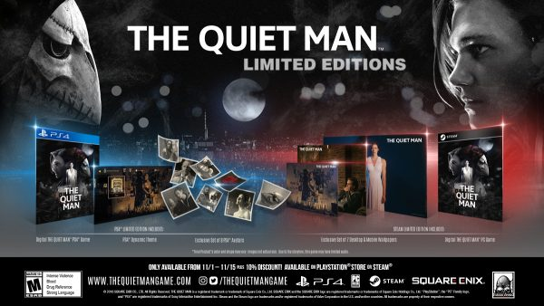 Square Enix's soundless thriller 'The Quiet Man' arrives November 1st