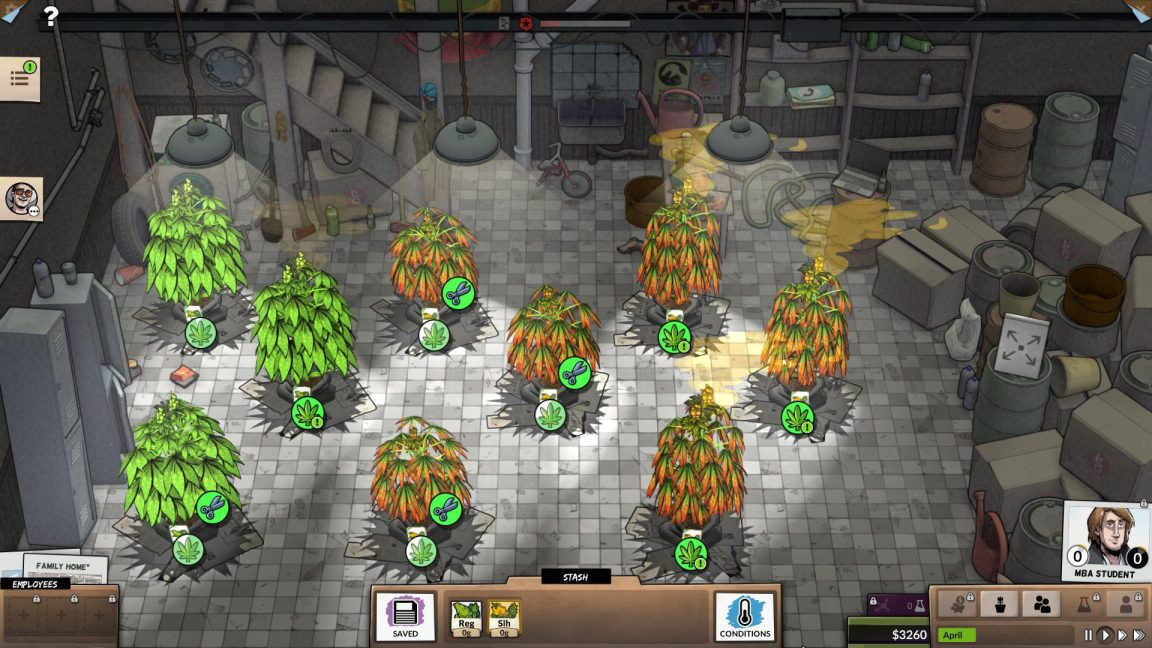 Weedcraft Inc is the tycoon game using marijuana as a tool for