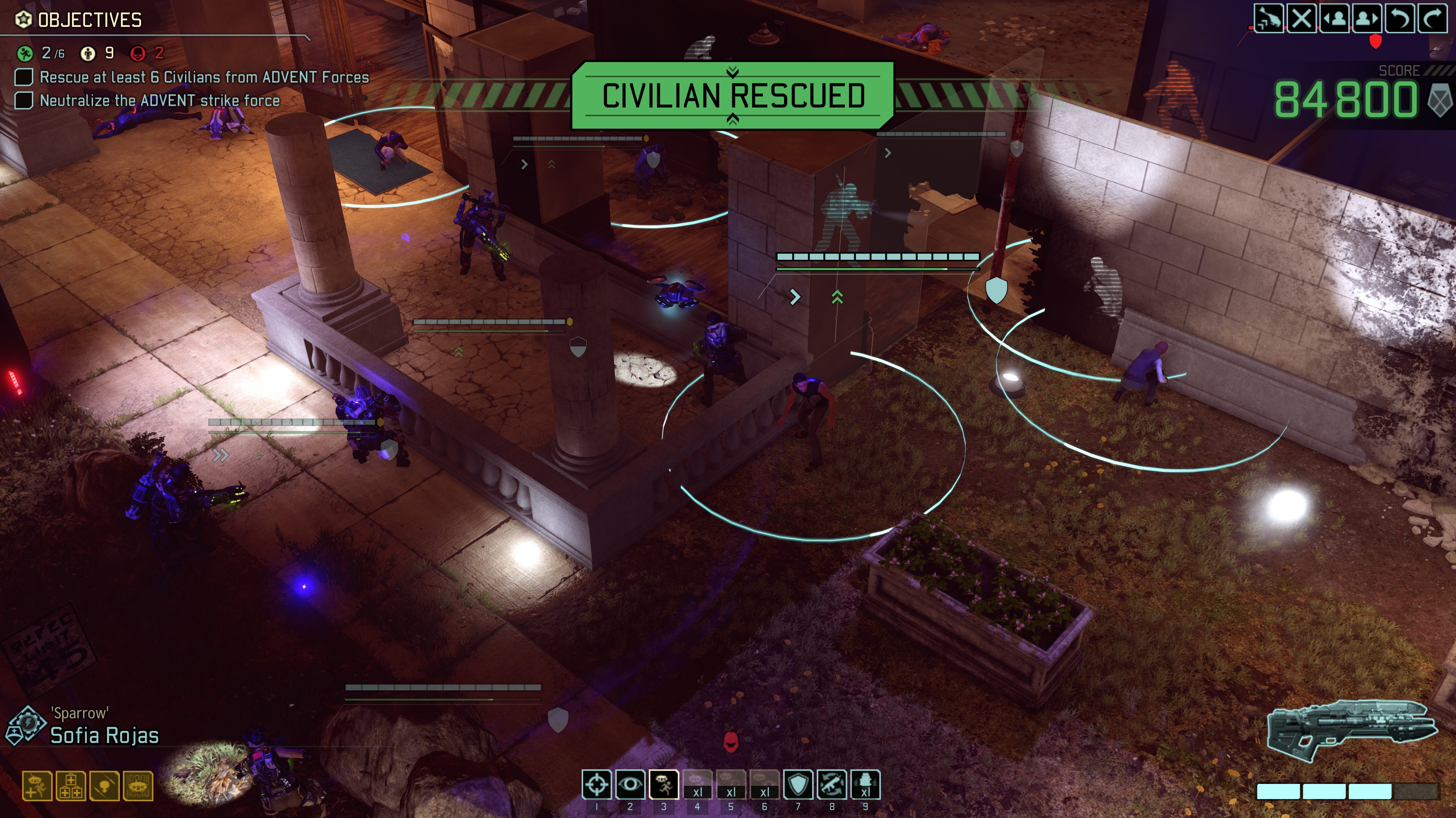 The Legacy Ops Missions Are Awash With New Voice Acting But It Also Mi Up Xcom Formula By Doing Away Base