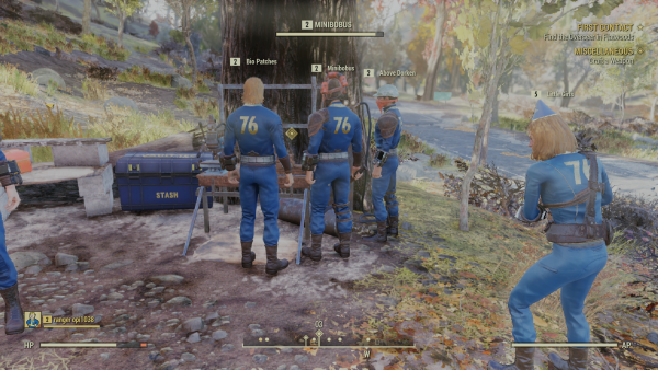 Fallout 76 questions answered: How to save, Wanted bounties, push to