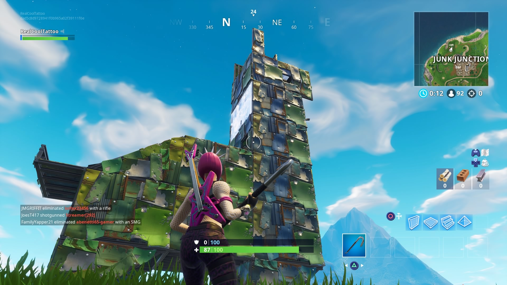 Fortnite Week 8 Challenges How To Earn Xp And Battle Stars Vg247