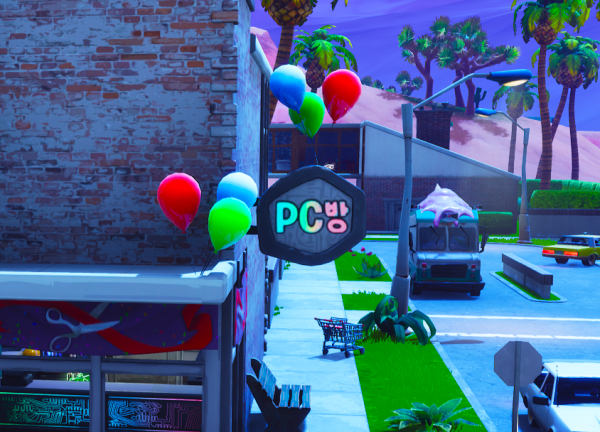 Fortnite PC Bang challenges help launch Battle Royale in