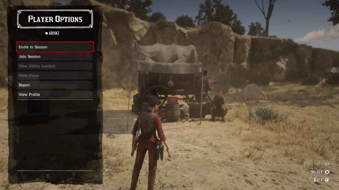 Red Dead Online: how to play with friends, join and invite