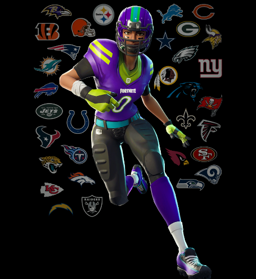Get A Closer Look At Fortnite S Brand New Nfl Skins Vg247