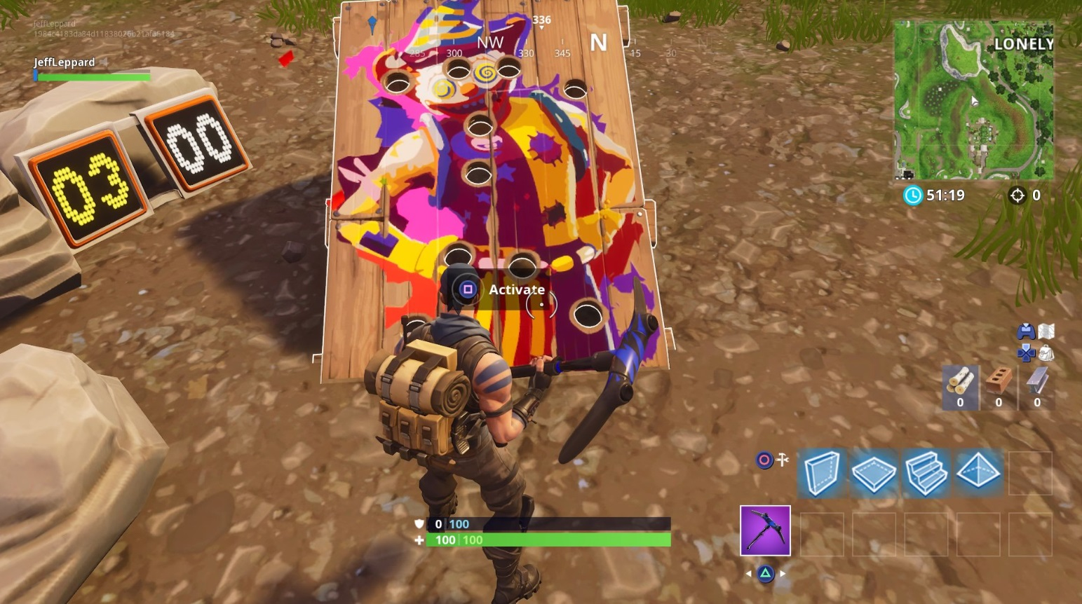 - how to play the clown game in fortnite