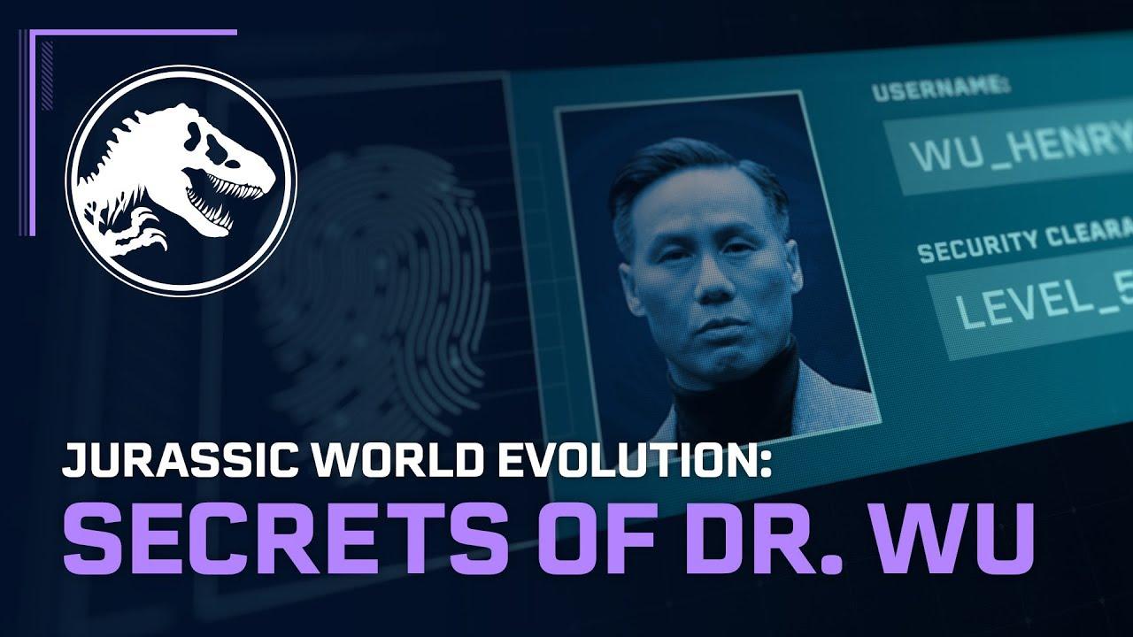 Jurassic World Evolution: Secrets of Dr  Wu DLC adds Wu's