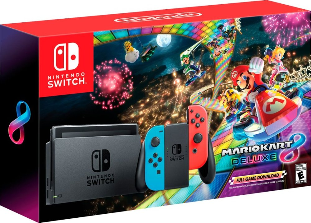 Grab a Nintendo Switch with Mario Kart 8 Deluxe in this early Black Friday bundle