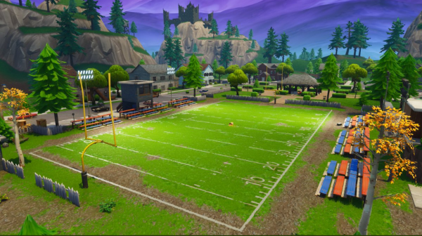 a new store called keyboard king has also opened up in paradise palms and can expect to see more map changes over the next few weeks - fortnite week 7 football
