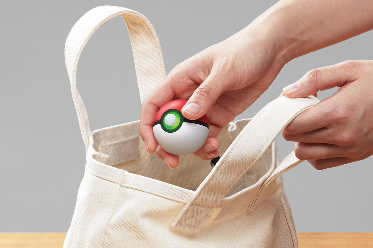 The Pokemon Poke Ball Plus is a silly gimmick, but it's a fun one