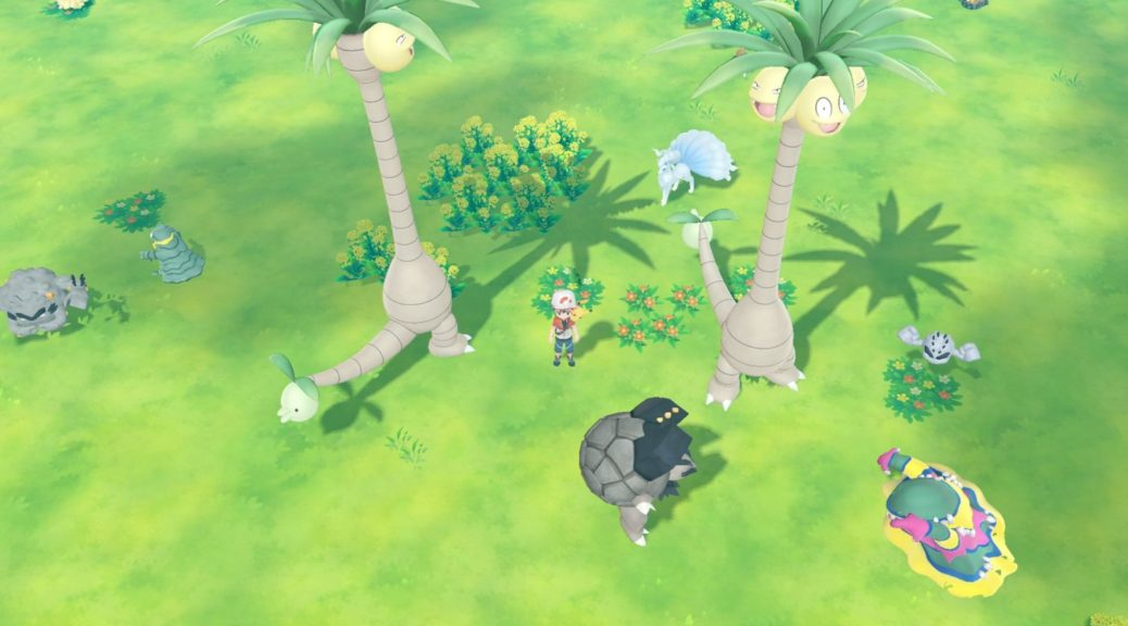 Pokemon Let's Go Daycare location: Feel like some remote leveling?