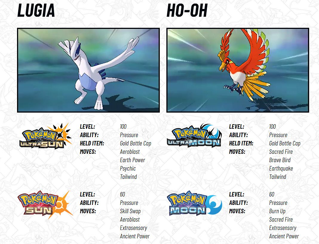 Pokemon Sun And Moon Legendary Distribution Ends This Month With