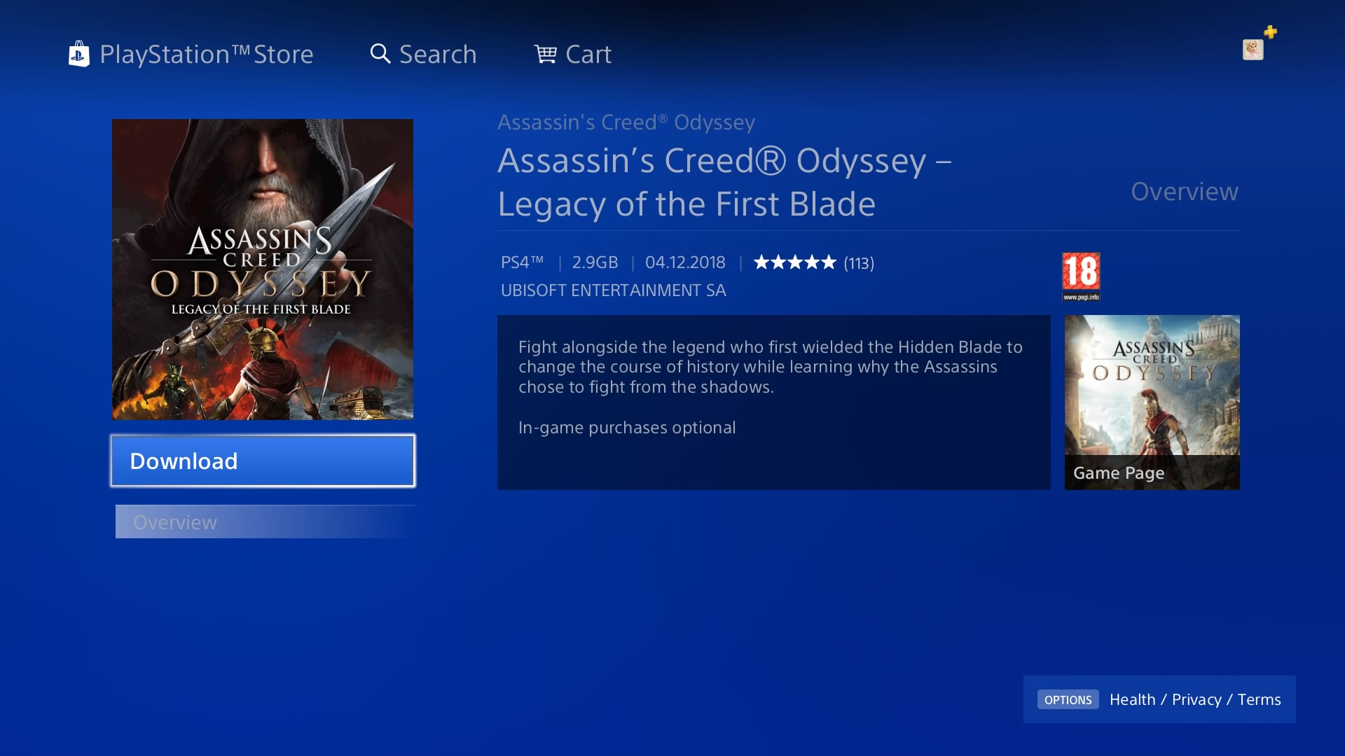 How to start the Assassin's Creed Odyssey - Legacy of the