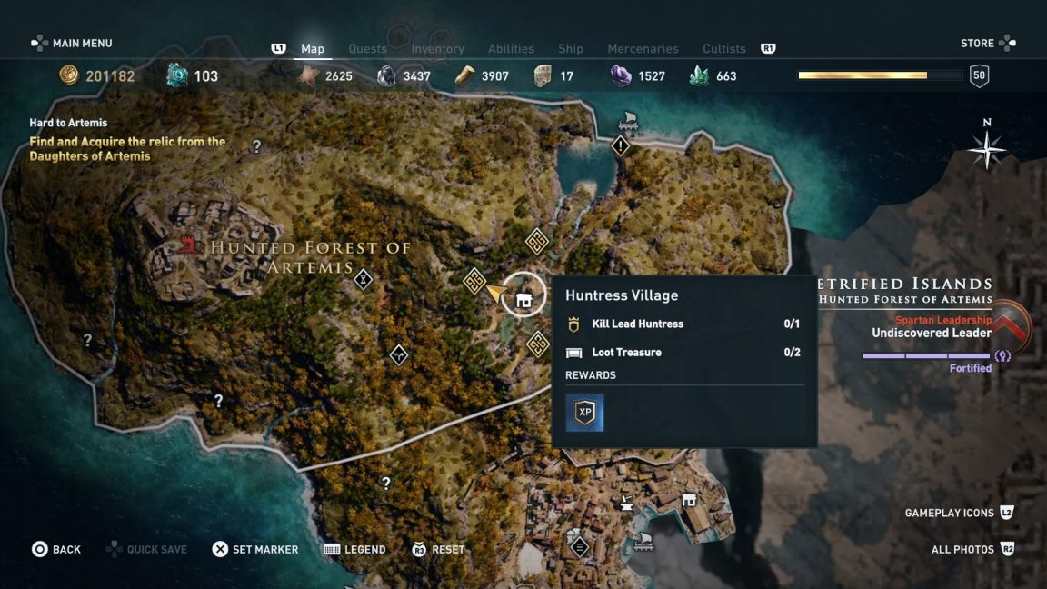 Assassin S Creed Odyssey Artifact Locations How To Seal The