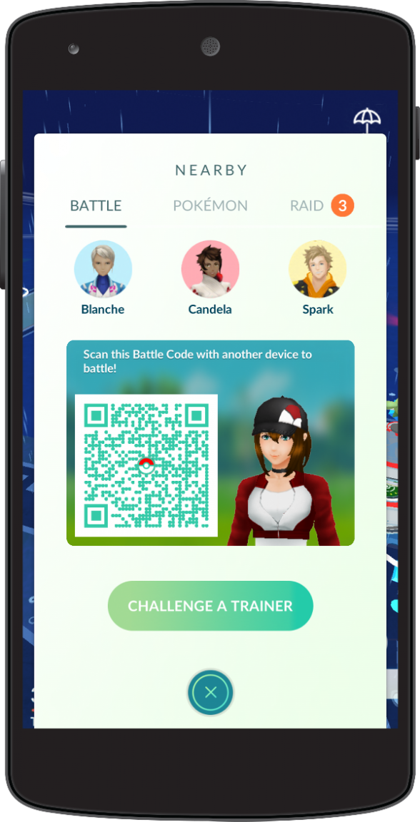 Pokemon Go Trainer Battles introduce PvP and an unlockable