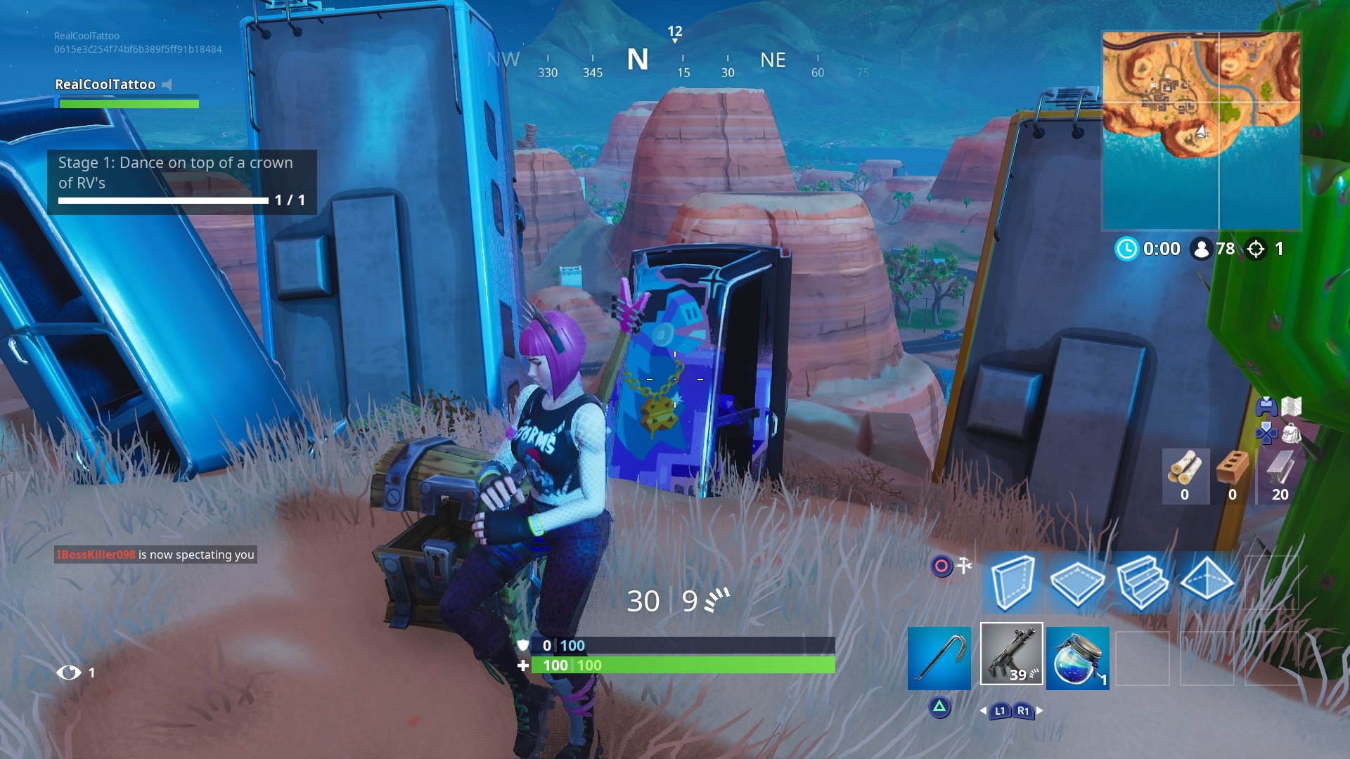 Fortnite Dance On Top Of A Crown Of Rvs Metal Turtle And A