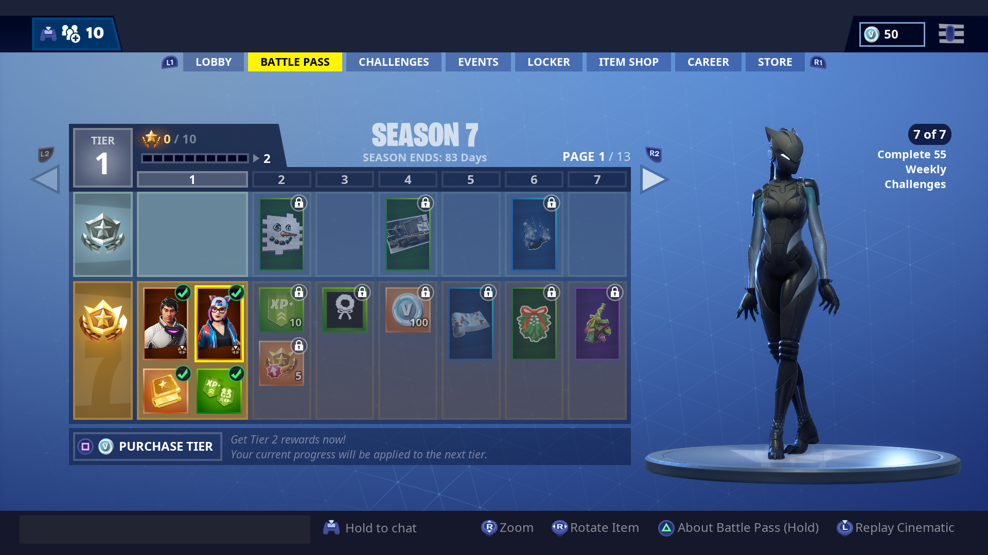 fortnite season 7 skins - fortnite saison 7