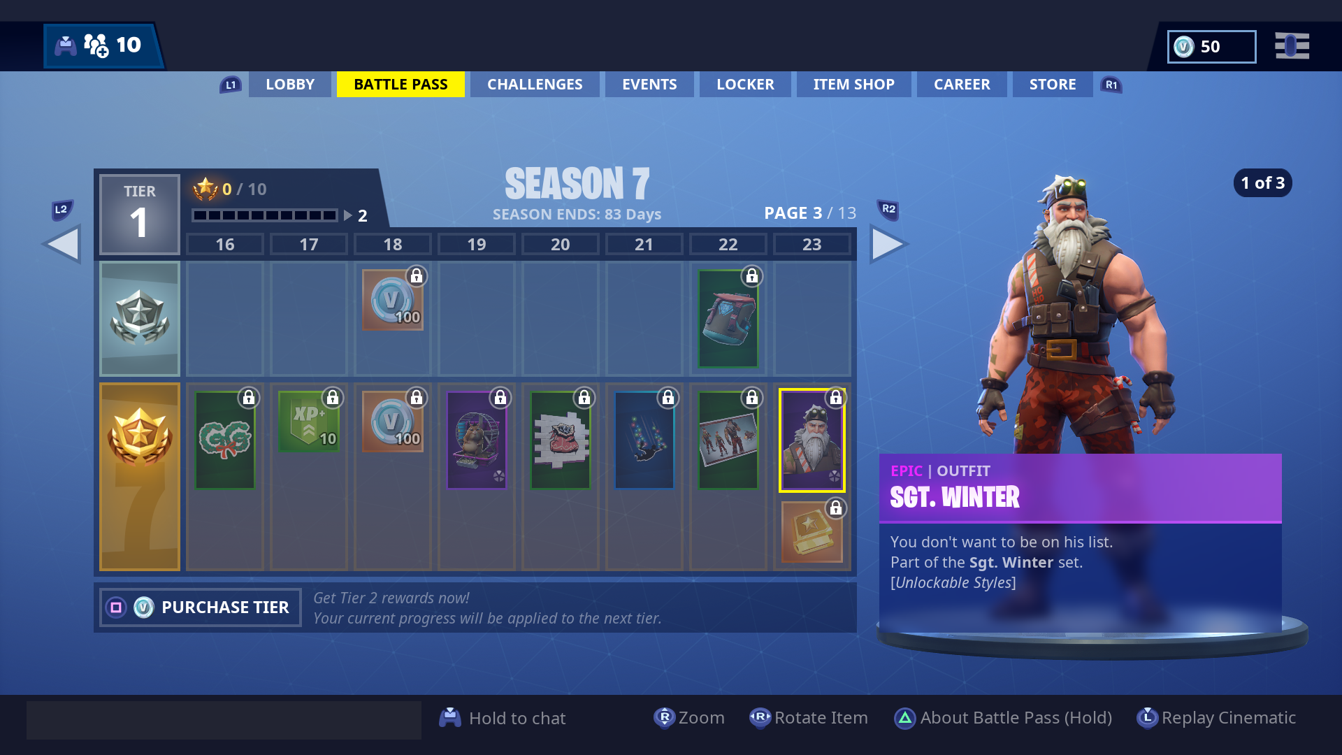 Fortnite Season 7 Battle Pass Skins Vg247