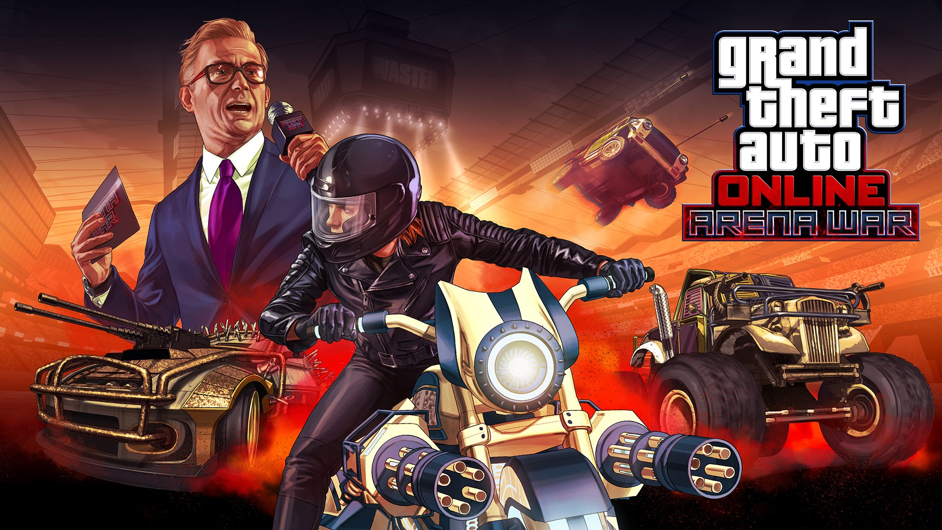 GTA Online Arena War adds 23 vehicles, 7 new modes today - VG247