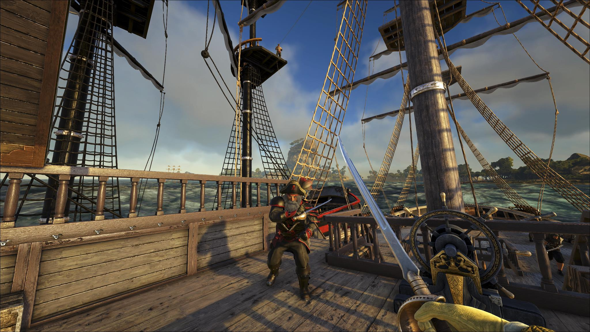 Atlas is a 40,000 players pirate MMO from the creators of